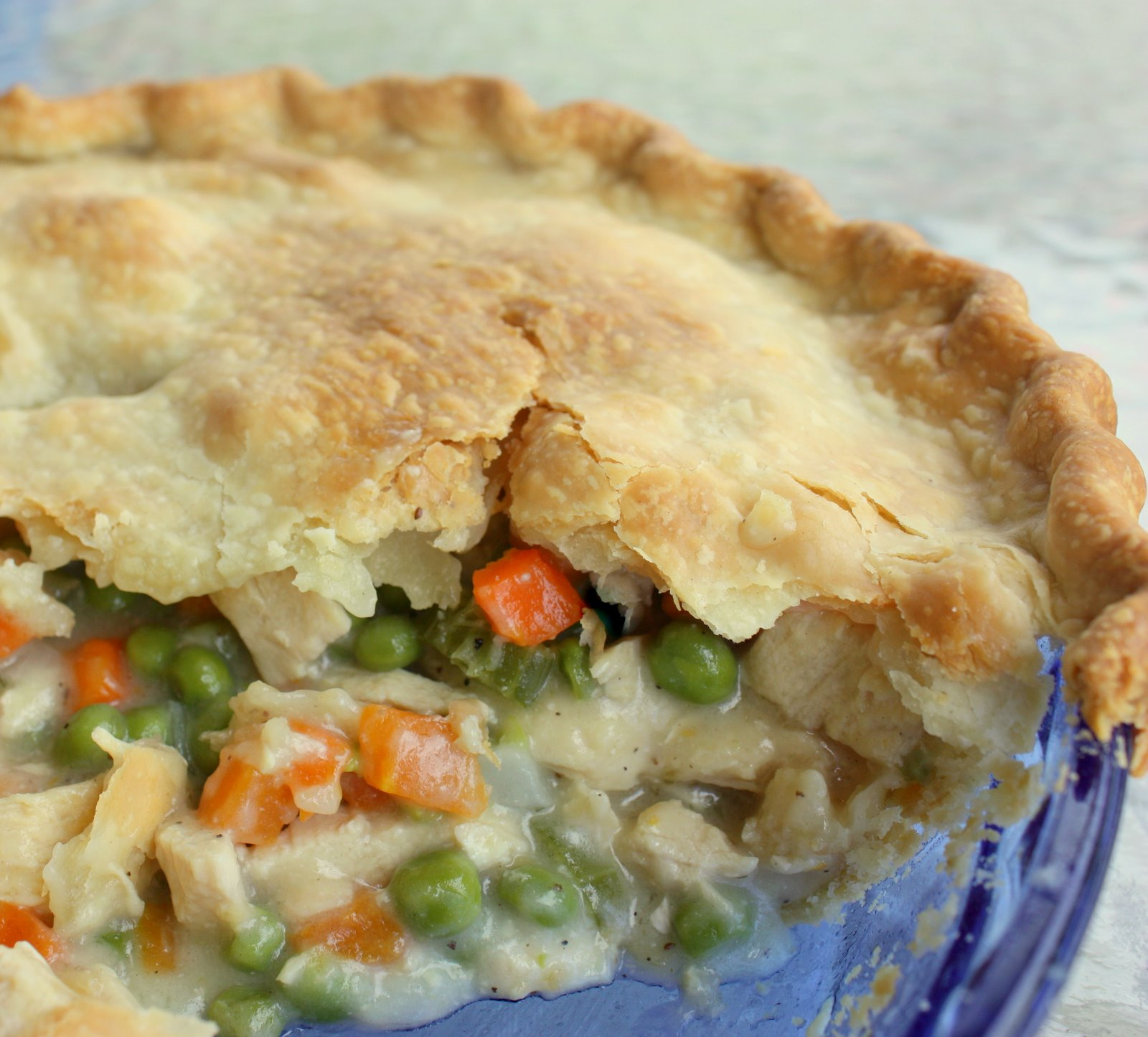 print chicken pot pie ingredients 1 pound skinless boneless chicken ...