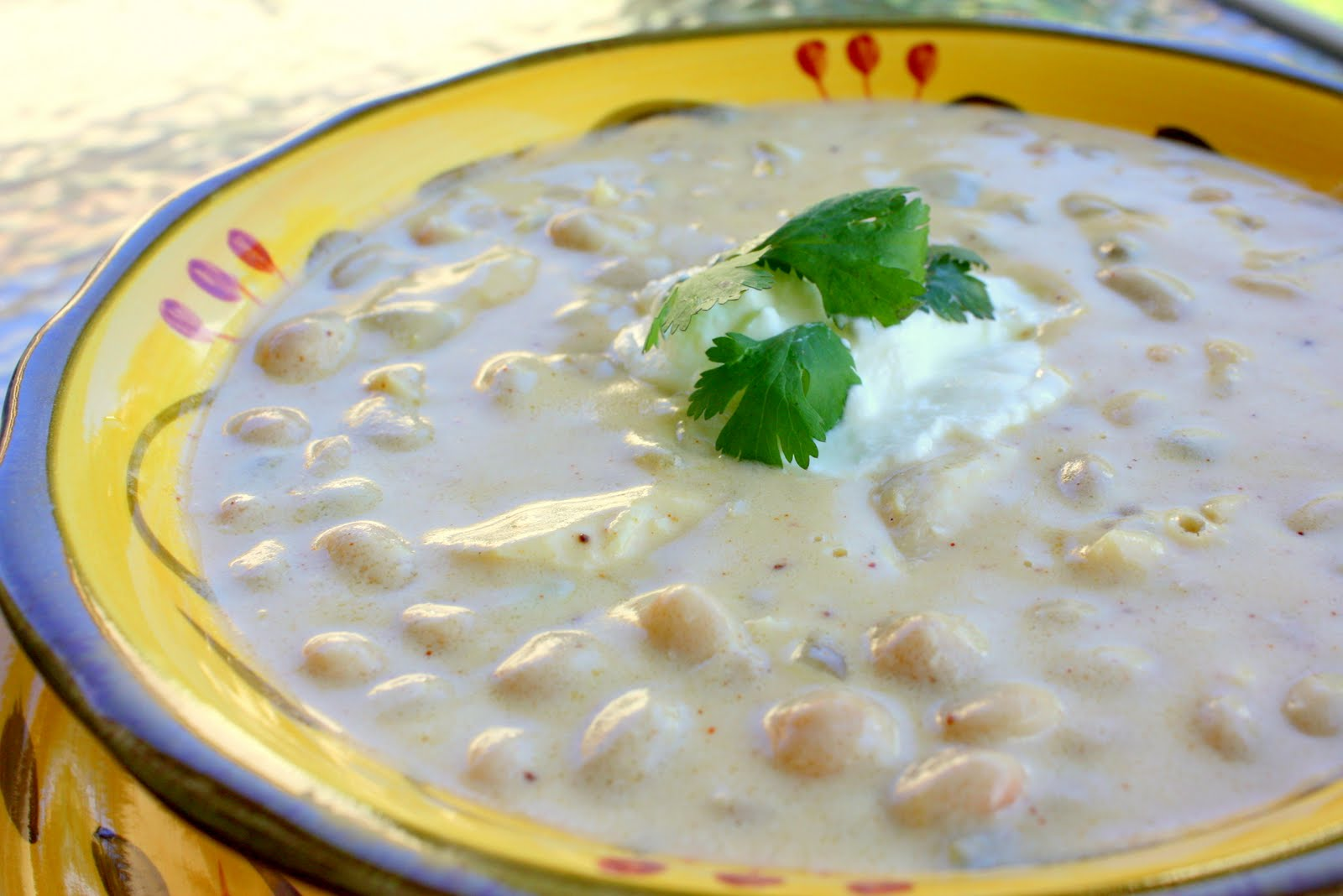 White Chicken Chili The Girl Who Ate Everything