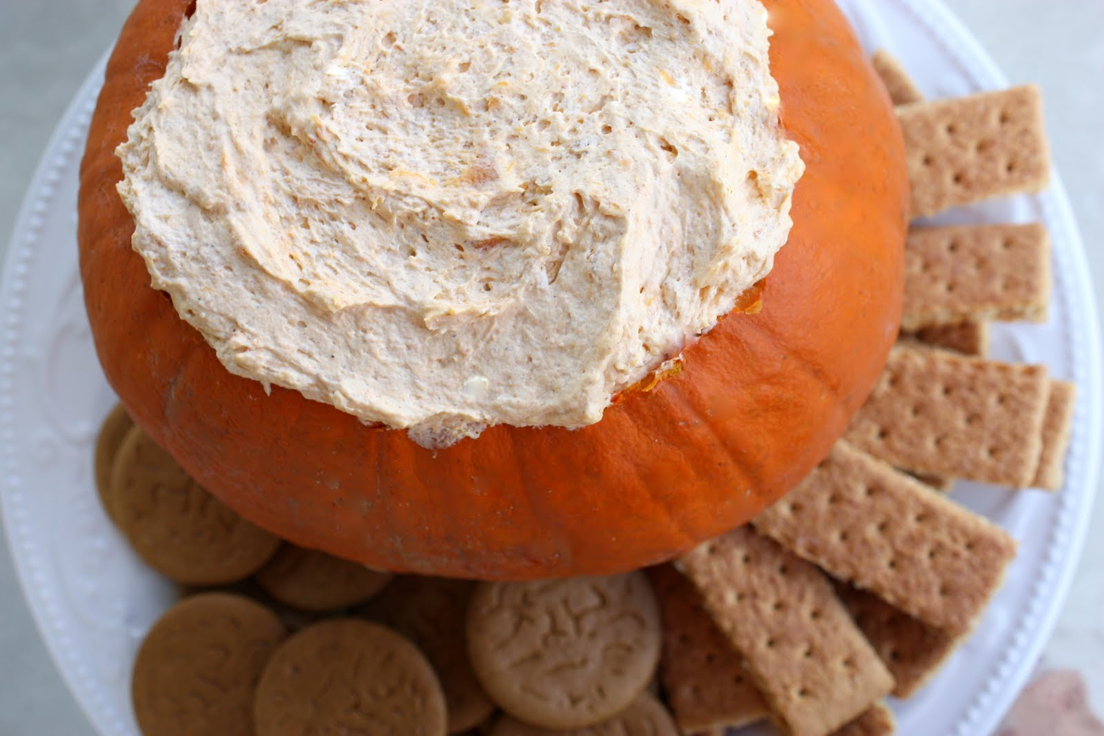 Pumpkin Fluff Dip - The Girl Who Ate Everything