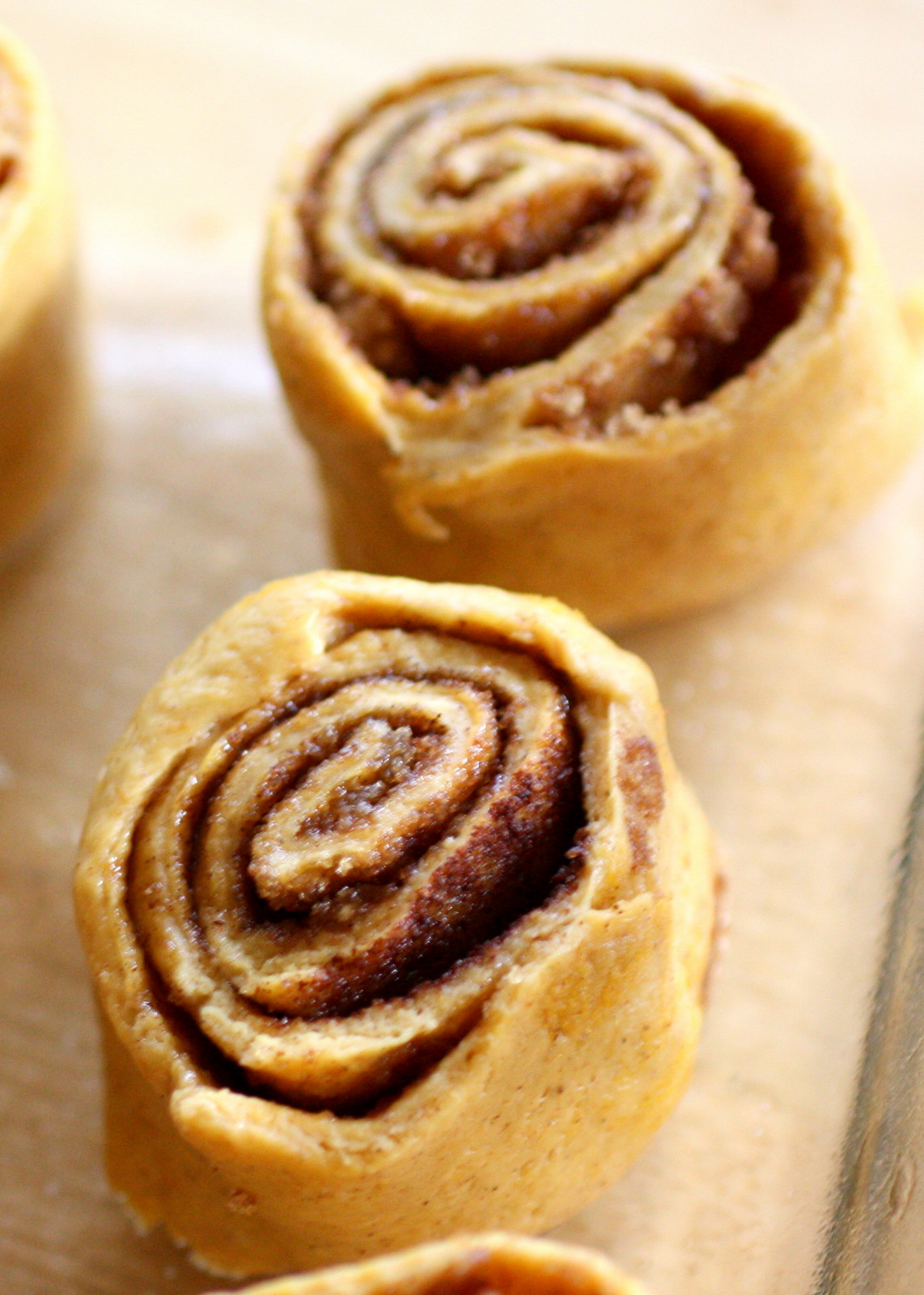 Pumpkin Pie Cinnamon Buns With Caramel Cream Cheese Frosting Recipes ...