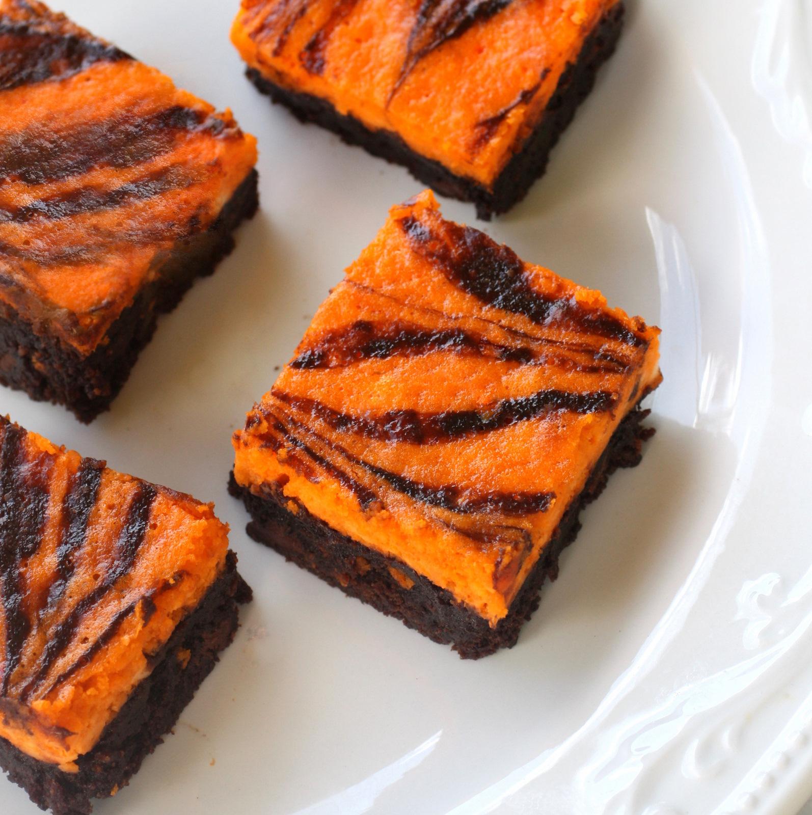 swirl - Halloween Brownie Recipe