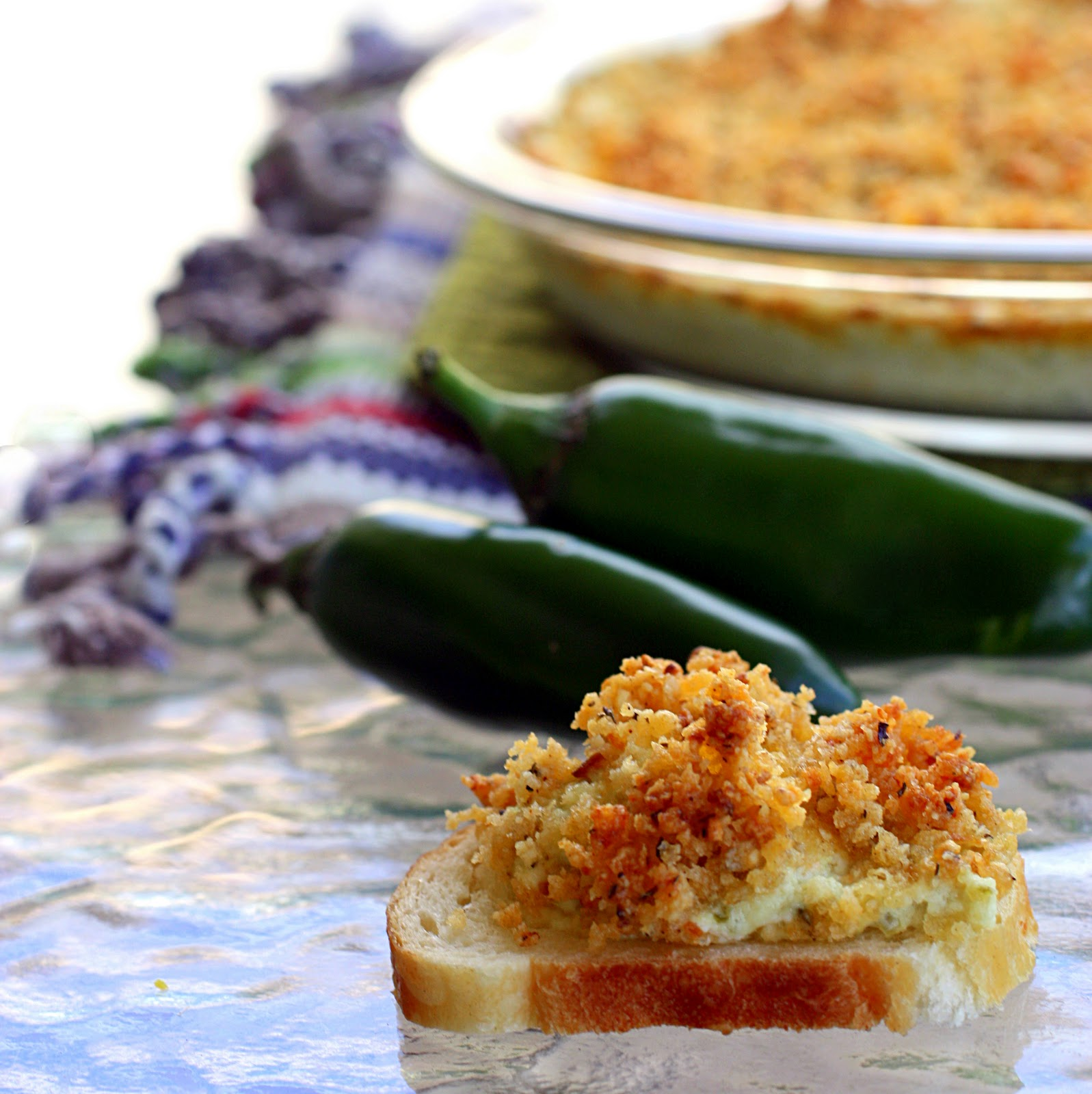 Jalapeno Popper Dip - The Girl Who Ate Everything