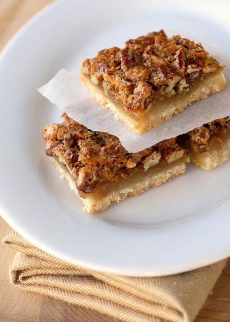 Pecan Pie Bars - just like the pie but in easy to eat bar form! the ...