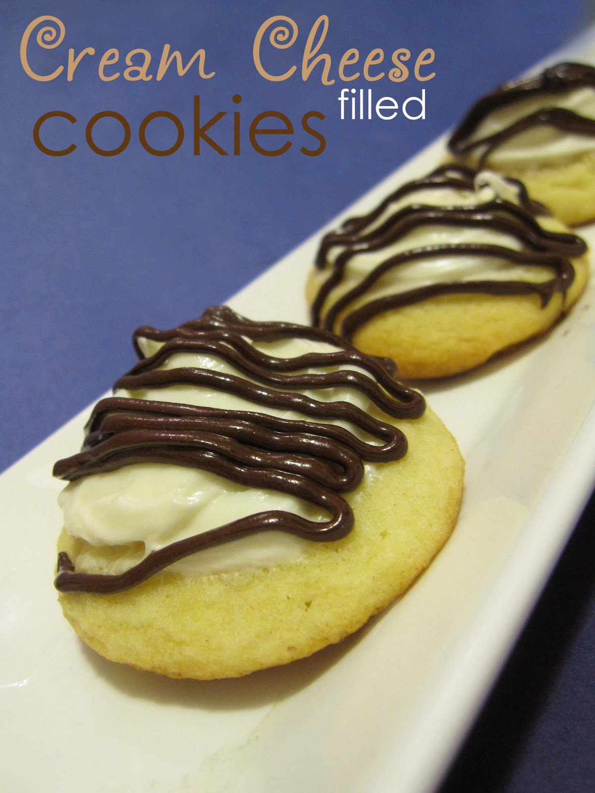 Day 8 of 12 Days of Christmas Cookies: Cream Cheese Filled Cookies ...