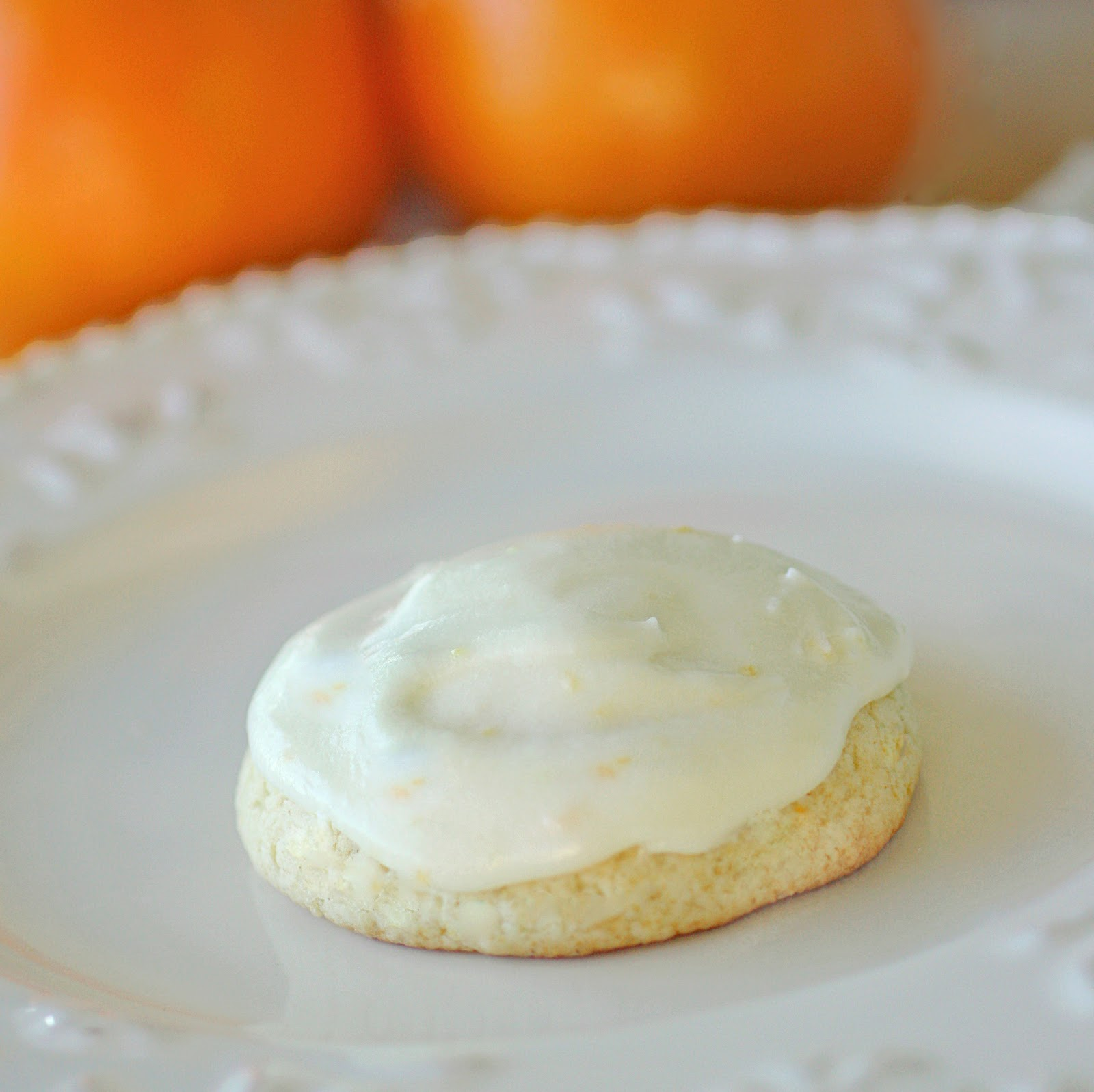 Day 3 of 12 Days of Christmas Cookies: Orange Cookies - The Girl Who ...